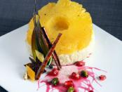 ориз с ананас